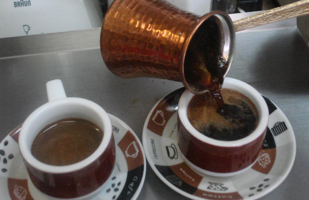 Как приготовить кофе по-турецки