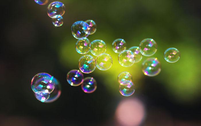 Из чего делают мыльные пузыри